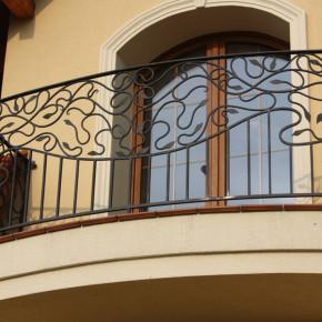 Balkon, dom prywatny
