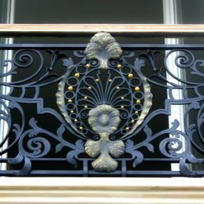 Balkony, dom prywatny, Warszawa